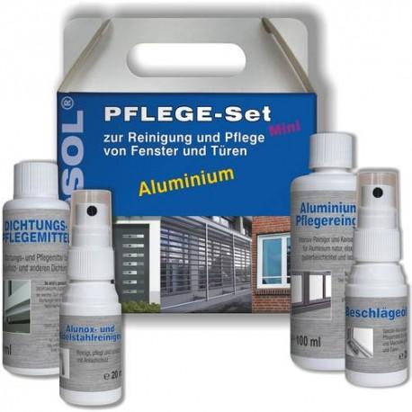 Fenosol aluminium pflege wartungs und reinigungsset for Sicherheit fur fenster und turen